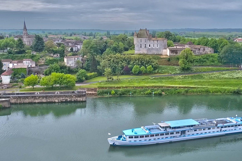 Båtcykling Bordeaux